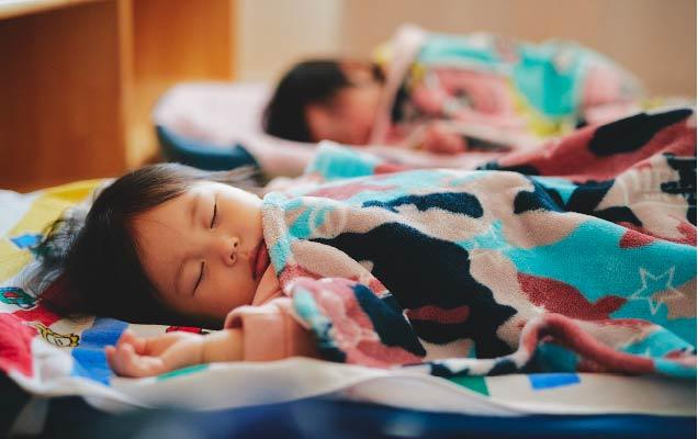 1・2歳児のお昼寝