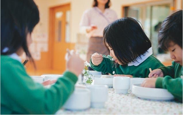 3・4・5歳児の給食