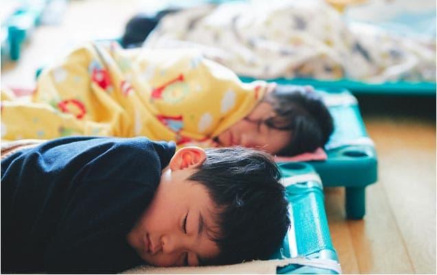 3・4・5歳児のお昼寝
